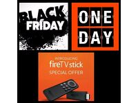 £45 Fire stick one day black friday sale ( android tv kodi )