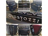 Giustozzi piano accordion (with full MIDI & Mics)