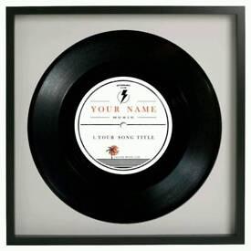Personalised Vinyl Records