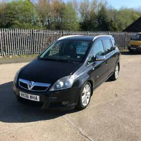 2006 06 vauxhall zafira design 150ps cdti