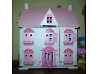Dolls' house - great condition and loads of furniture
