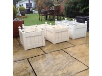 Garden planters cost £30 each selling for only £10 each tel 07966921804