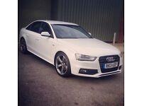 Audi A4 S Line Black Edition 177 BHP SAT NAV