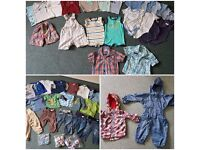 Baby boys clothes bundle 12-18 months