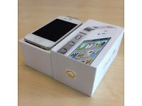 APPLE IPHONE 4S 16GB ON EE / ORANGE / T-MOBILE / VIRGIN NETWORK **MINT CONDITION***SALE SALE SALE**