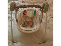 Bright Starts - Baby swing - Good condition.