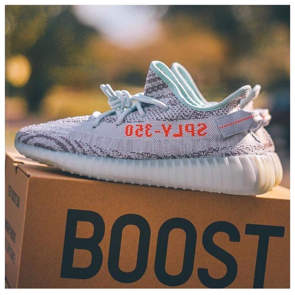 f2d46ebfdc3 ADIDAS x Kanye West Yeezy Boost 350 V2 BLUE TINT 16.12.17 With Original  Receipt 100sales