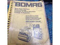 Bomag parts list