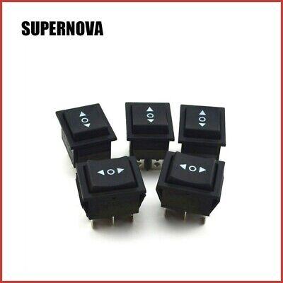 6PCS 3-Position Momentary Rocker Switch 6-Pin Spring Return DPDT 16A 250V