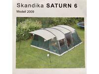 Skandika Saturn 6 Man Tent Excellent Condition