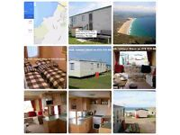 HOLIDAYS Perranporth, CORNWALL - Static caravan 6 berth SEA & BEACH VIEW & PETS - open 365 days