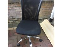 Black computer chair for sale