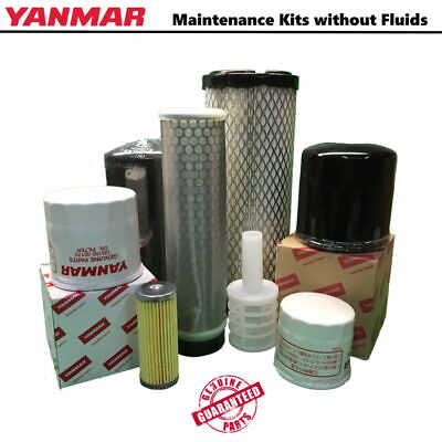 Yanmar Excavator Maintenance Kit-vio55-6a No Fluids