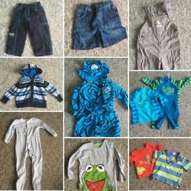 Baby boy bundle 9-12 months