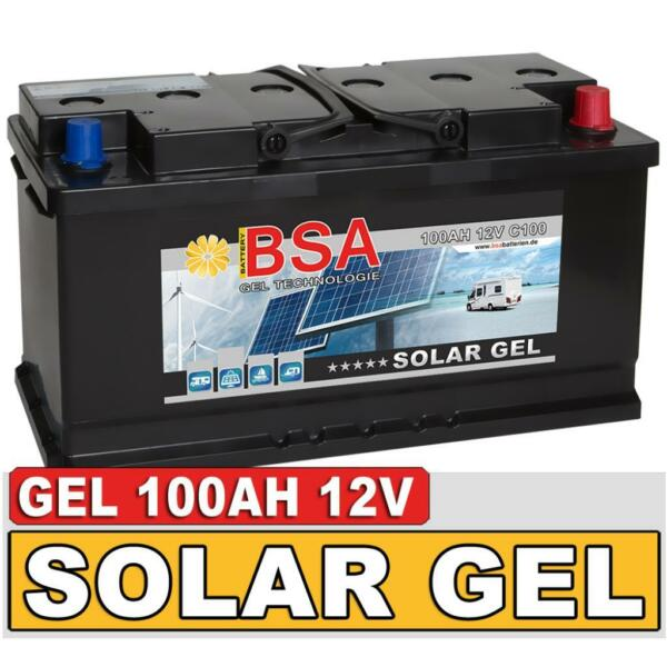 blei gel batterie 100ah 12v wohnmobil solar boot batterie in baden w rttemberg mannheim. Black Bedroom Furniture Sets. Home Design Ideas
