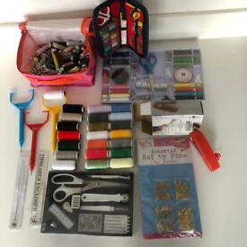 Large bundle of sewing accessories
