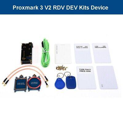 Proxmark 3 V2 RFID RDV DEV Kits Programmer Cloner Writer Copier Reader T5577 UID