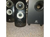 Logitach speakers and sub