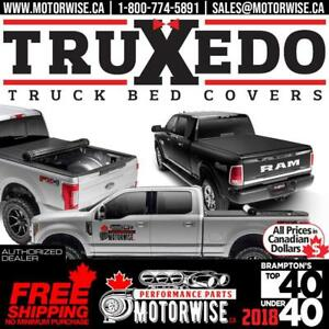 Truxedo Roll Up Bed Covers | Order Directly from our online store (www.motorwise.ca) & get Free Shipping Canada Wide