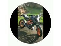 KTM DUKE 390 !!