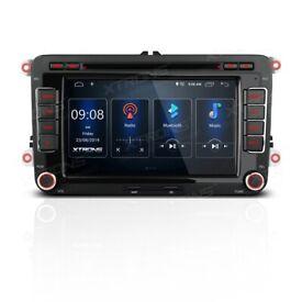 7 inch Android Car DVD Stereo GPS Sat Nav Bluetooth Radio VW T5 Multivan Passat Golf Touran £199.99