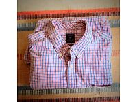 BEAUTIFUL GAP SHIRT, PINK/BLUE CHECK, SIZE XL. GREAT CONDITION.