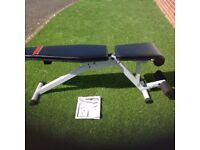 York 13 position utility bench