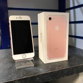 Apple iPhone 7 32GB Rose Gold O2 *12 Month Warranty*