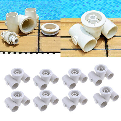 8pcs Pool Massage Nozzle Jet Water Outlet for Swimming Pool Accessories 50mm