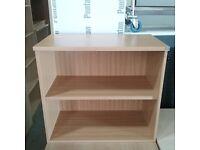 Oak 2 shelf bookcase