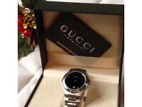 Men's Gucci Wrist Watch ( Genuine )