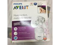 Phillip Advent Manuel Breast pump.