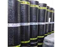 Debotech Torch on felt, blue grey mineral layer 8m, 2mm underlay roll 15m