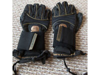 Burton Gloves with removable wrist support x large snowboarding
