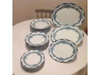 Plates -Dinner, Breakfast, Tea and serving plates