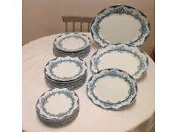 Plates -Dinner, Breakfast, Tea and serving plates