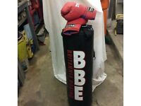 Punch bag and gloves