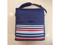 Lovely Large Blue Picnic Cooler Bag - Good Condition (Two Available)