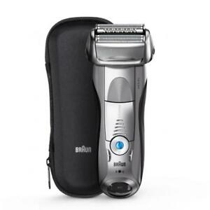 Braun Series 7 Electric Foil Shaver for Men with Clean and Charge Station brand new sealed