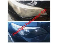 Headlight Restoration £20