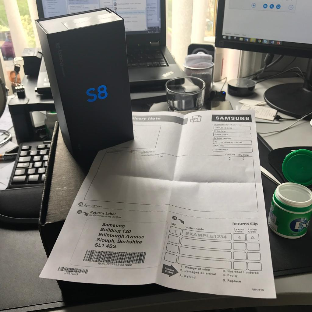 Samsung Galaxy S8 // 64GB // Brand New // Sealed // With Receipt // READY TO COLLECT // Manchester