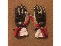 Daniese leather motorbike gloves size S