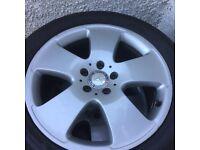 Mercedes S Class Wheels & Tyres