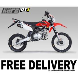 KURZ RT1 50 Enduro - Pit Bike - Learner Suitable - Pitbike - Road Legal
