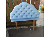 Single bed headboard