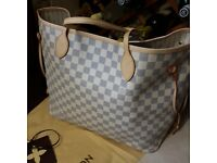 Designer Neverfull Azur Hand bag £150 Tel:07941364491
