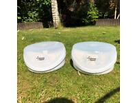 2 x tommee tippee closer to nature microwave sterilisers