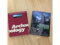Archaeology text books