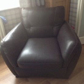 3seater sofa chair and footstool
