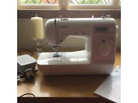 Brother Anniversary Sewing Machine as new.